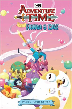 Adventure Time With Fionna & Cake: Party Bash Blues nn-A