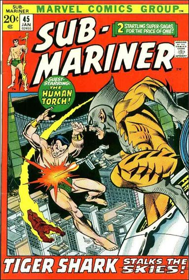 Sub-Mariner (1968) 45-A by Marvel