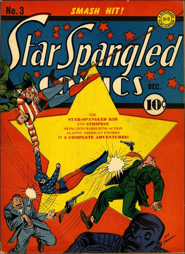 Star Spangled Comics (1941) 3-A by DC