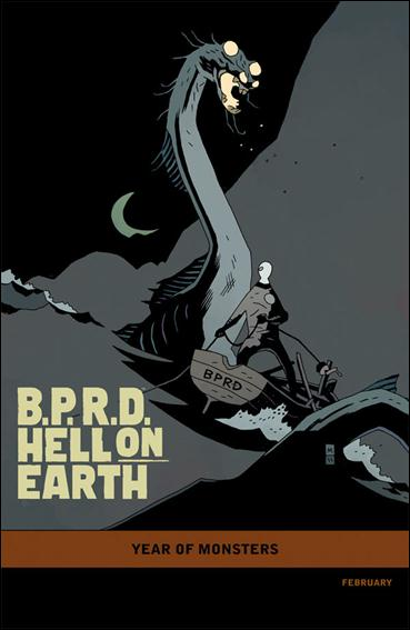 B.P.R.D. Hell on Earth: The Long Death 1-B by Dark Horse