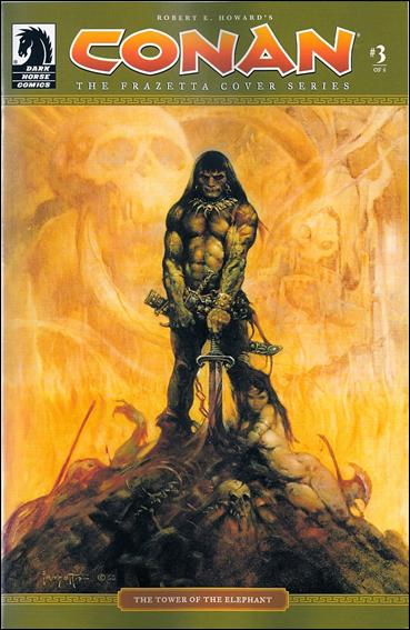 Conan: The Frazetta Cover Series 3-A by Dark Horse