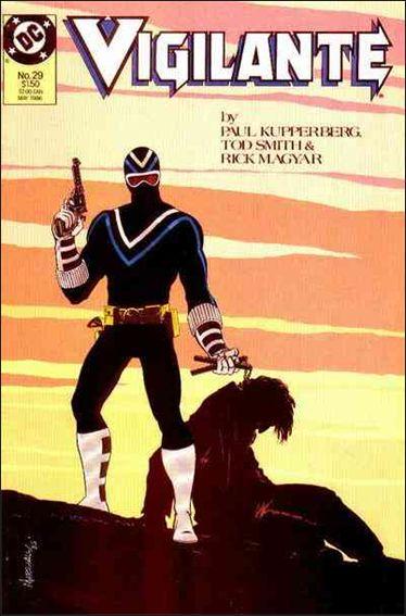 Vigilante (1983) 29-A by DC