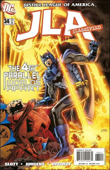 JLA: Classified 34-A by DC