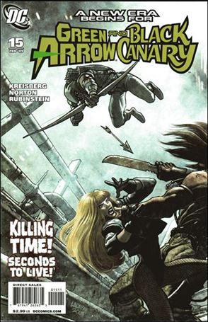 Green Arrow/Black Canary 15-A