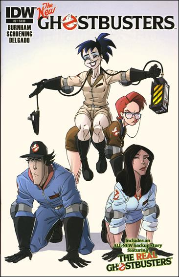 Ghostbusters (2013) 2-A by IDW