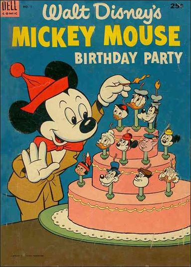 Mickey Mouse Birthday Party 1-A by Dell