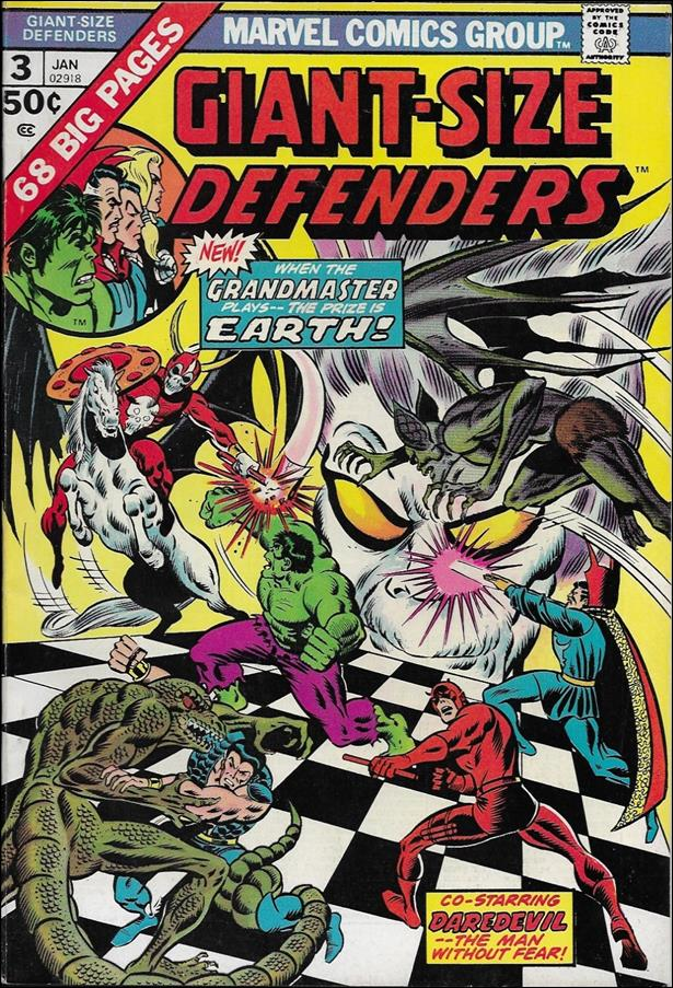 Giant-Size Defenders 3-A by Marvel