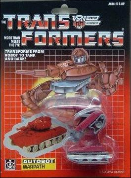Transformers: More Than Meets the Eye (Generation 1) Warpath by Hasbro