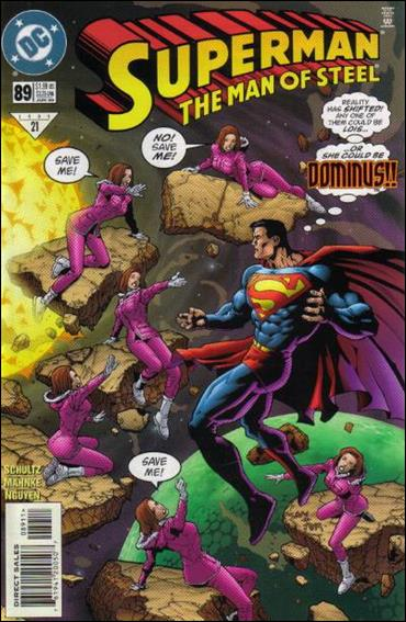 Superman: The Man of Steel 89-A by DC