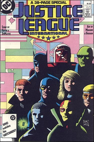 Justice League International (1987) 7-A by DC