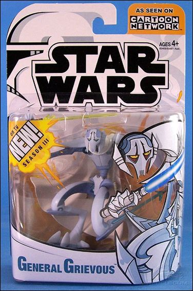 Star Wars: Clone Wars (Animated) General Grievous by Hasbro