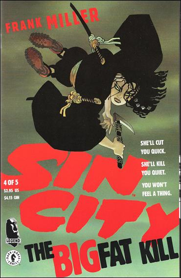 Sin City: The Big Fat Kill 4-A by Dark Horse