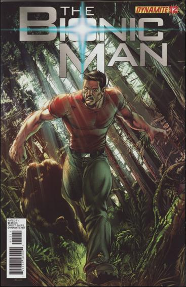 Bionic Man 12-B by Dynamite Entertainment