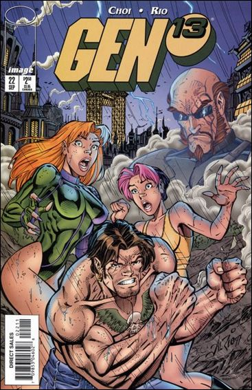 Gen13 (1995) 22-A by WildStorm