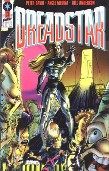 Dreadstar (1982) 63-A by Epic
