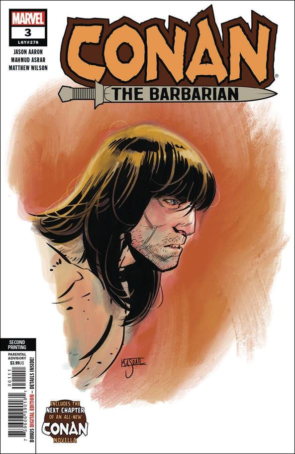 Conan the Barbarian (2019) 3-F by Marvel