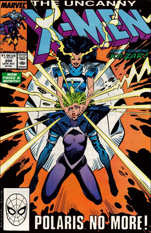 Uncanny X-Men (1981) 250-A by Marvel