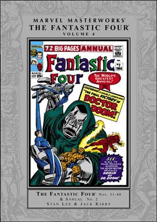 Marvel Masterworks: The Fantastic Four 4-A