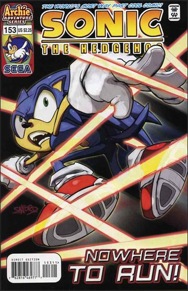 Sonic the Hedgehog (1993) 153-A by Archie