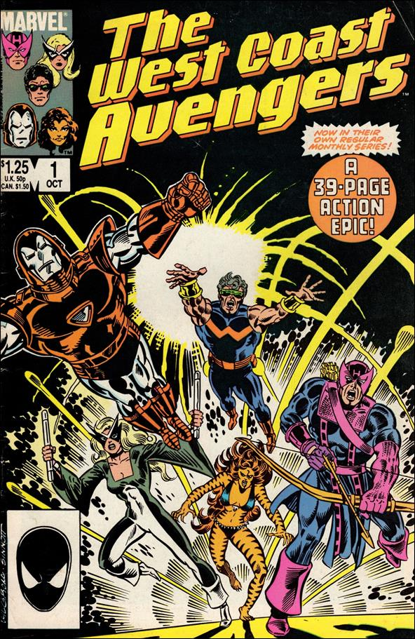 West Coast Avengers (1985) 1-A by Marvel