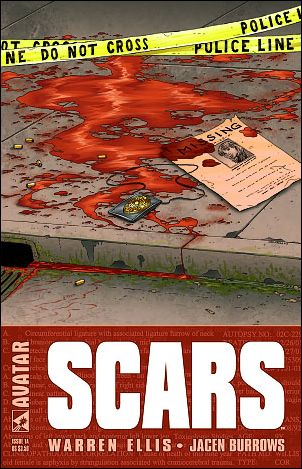 Scars 1-A by Avatar Press