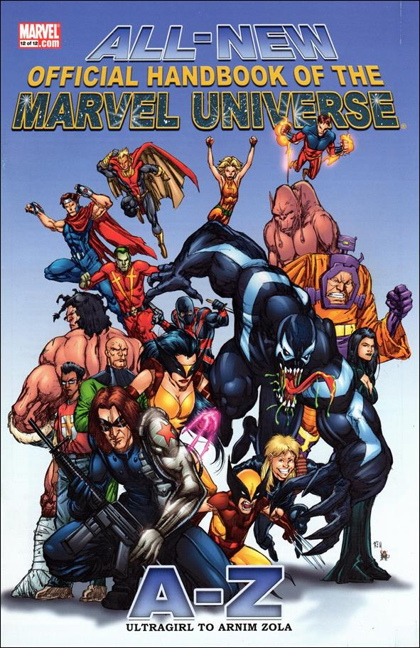 All-New Official Handbook of the Marvel Universe A to Z 12-A by Marvel