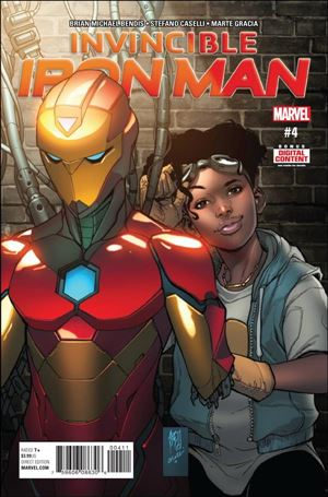 Invincible Iron Man (2017) 4-A