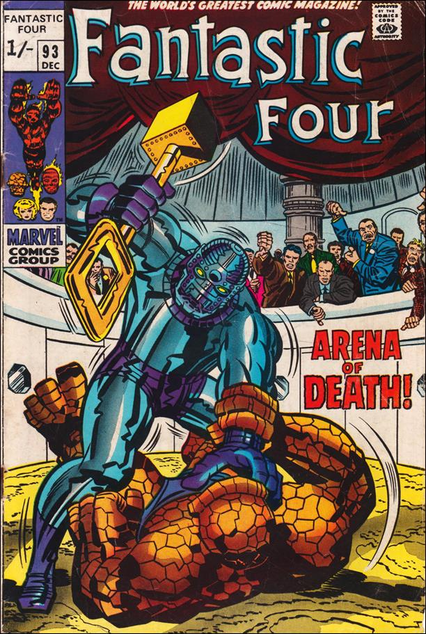 Fantastic Four (1961) 93-B by Marvel