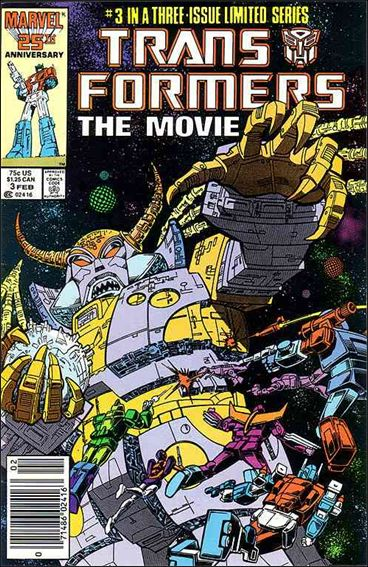 Transformers: The Movie 3-A by Marvel