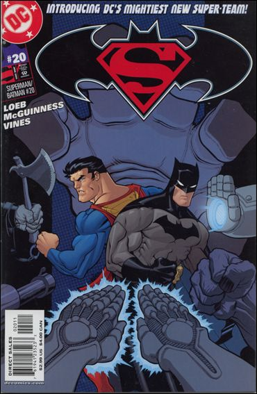 Superman/Batman 20-A by DC