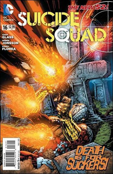 Suicide Squad (2011) 16-A by DC