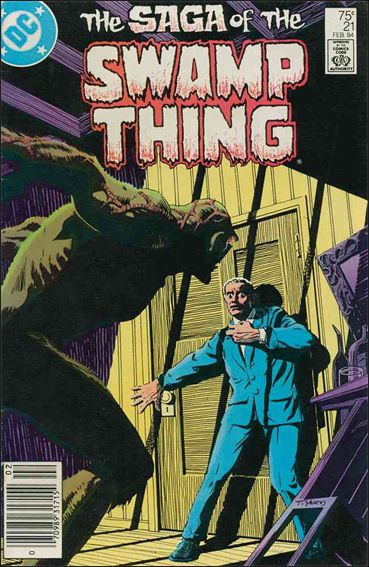Saga of the Swamp Thing 21-A by DC