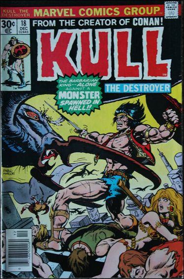 Kull the Destroyer 18-A by Marvel