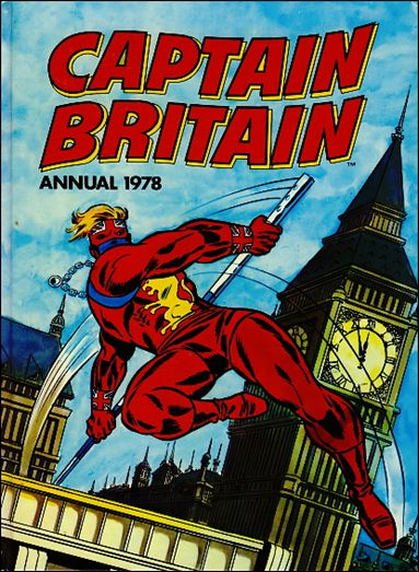 Captain Britain Annual (UK) 1-A by Marvel UK