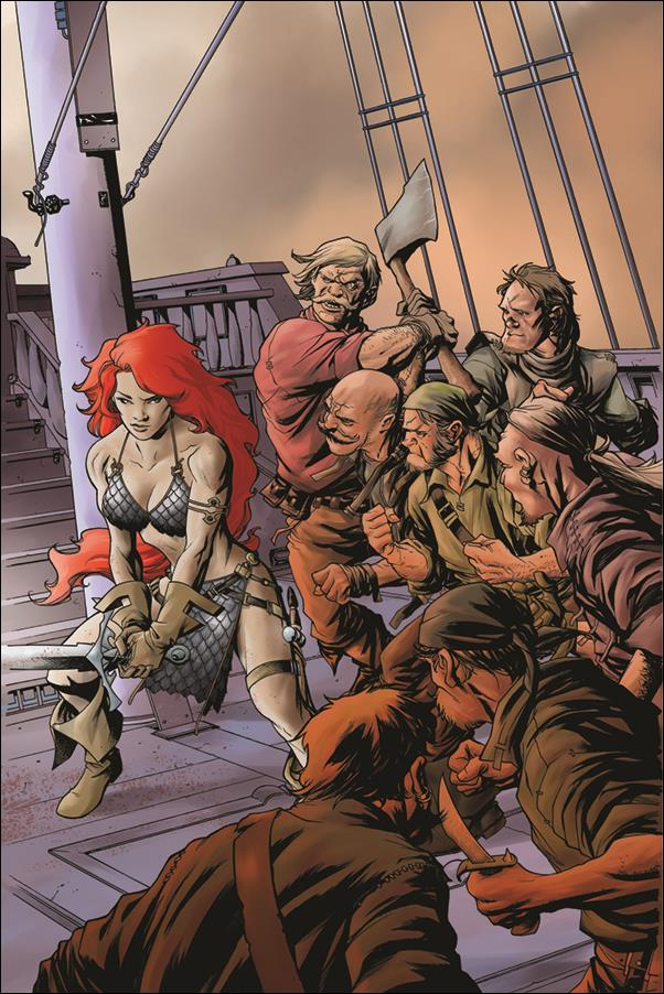 Red Sonja (2017) 25-F by Dynamite Entertainment