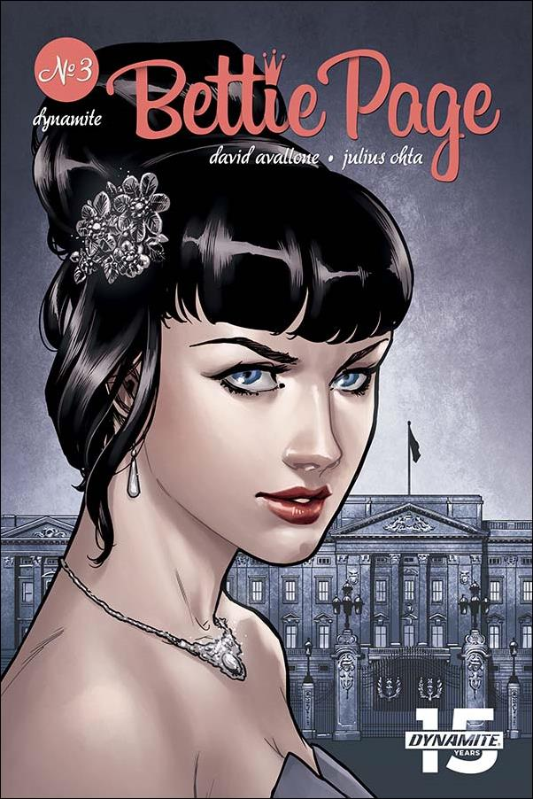 Bettie Page (2018) 3-D by Dynamite Entertainment