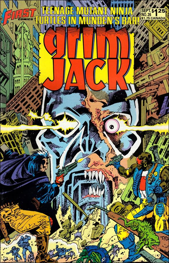 Grimjack 26-A by First