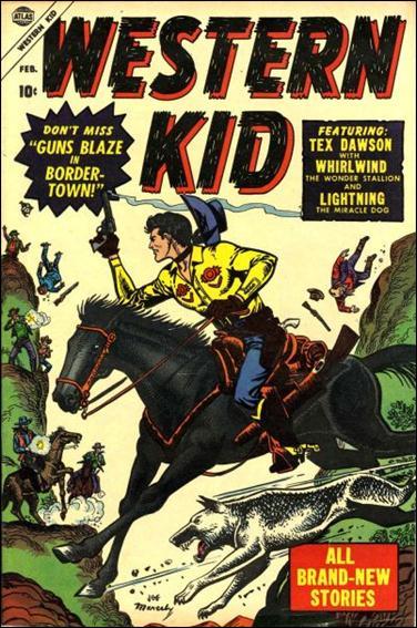 Western Kid (1954) 2-A by Atlas