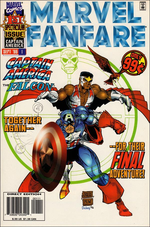 Marvel Fanfare (1996) 1-A by Marvel