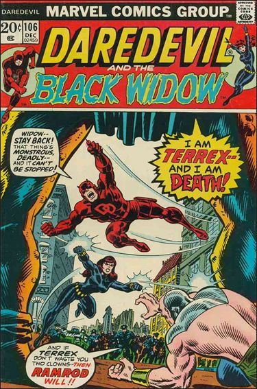 Daredevil (1964) 106-A by Marvel