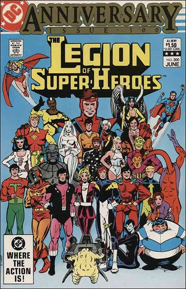 Legion of Super-Heroes (1980) 300-A by DC