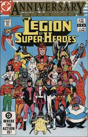 Legion of Super-Heroes (1980) 300-A