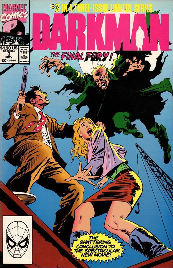 Darkman (1990/10) 3-A by Marvel