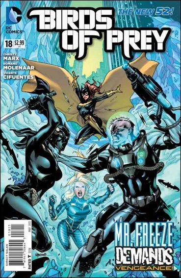 Birds of Prey (2011) 18-A by DC