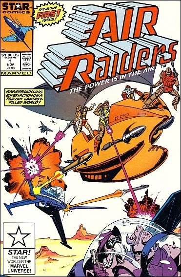 Air Raiders 1-A by Marvel