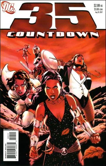 Countdown (2007) 35-A by DC