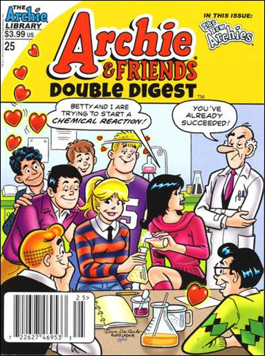 Archie &amp; Friends Double Digest Magazine 25-A by Archie
