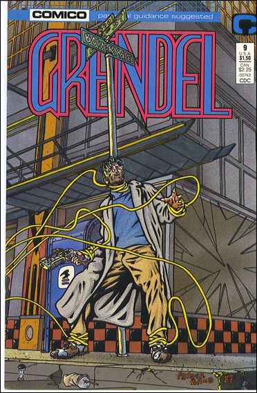 Grendel (1986) 9-A by Comico
