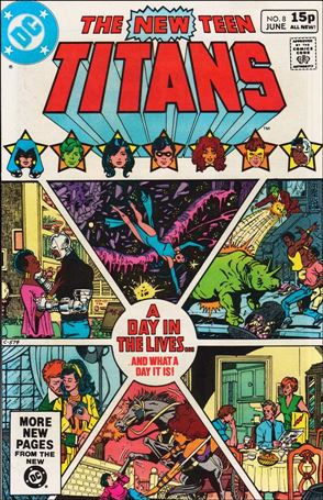 New Teen Titans (1980) 8-B