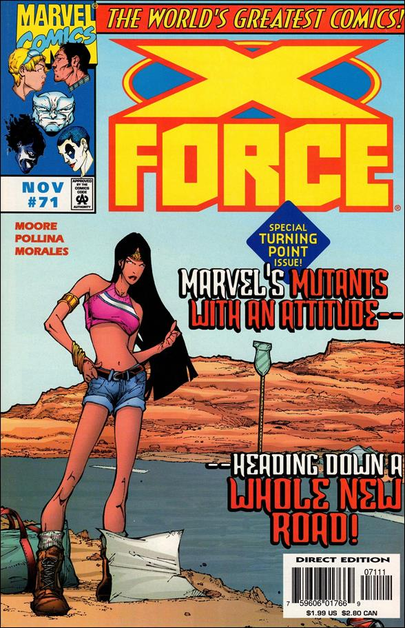 X-Force (1991) 71-A by Marvel
